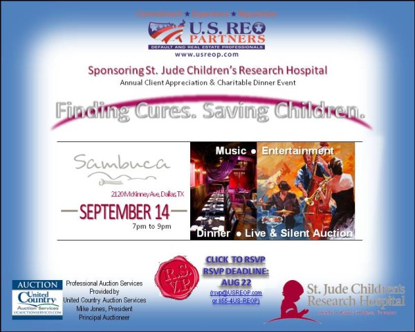 2014 Finding Cure Saving Children USREOP Auction Dinner