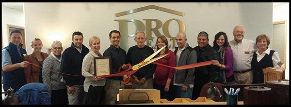 mark ferguson Chamber Ribbon Cutting
